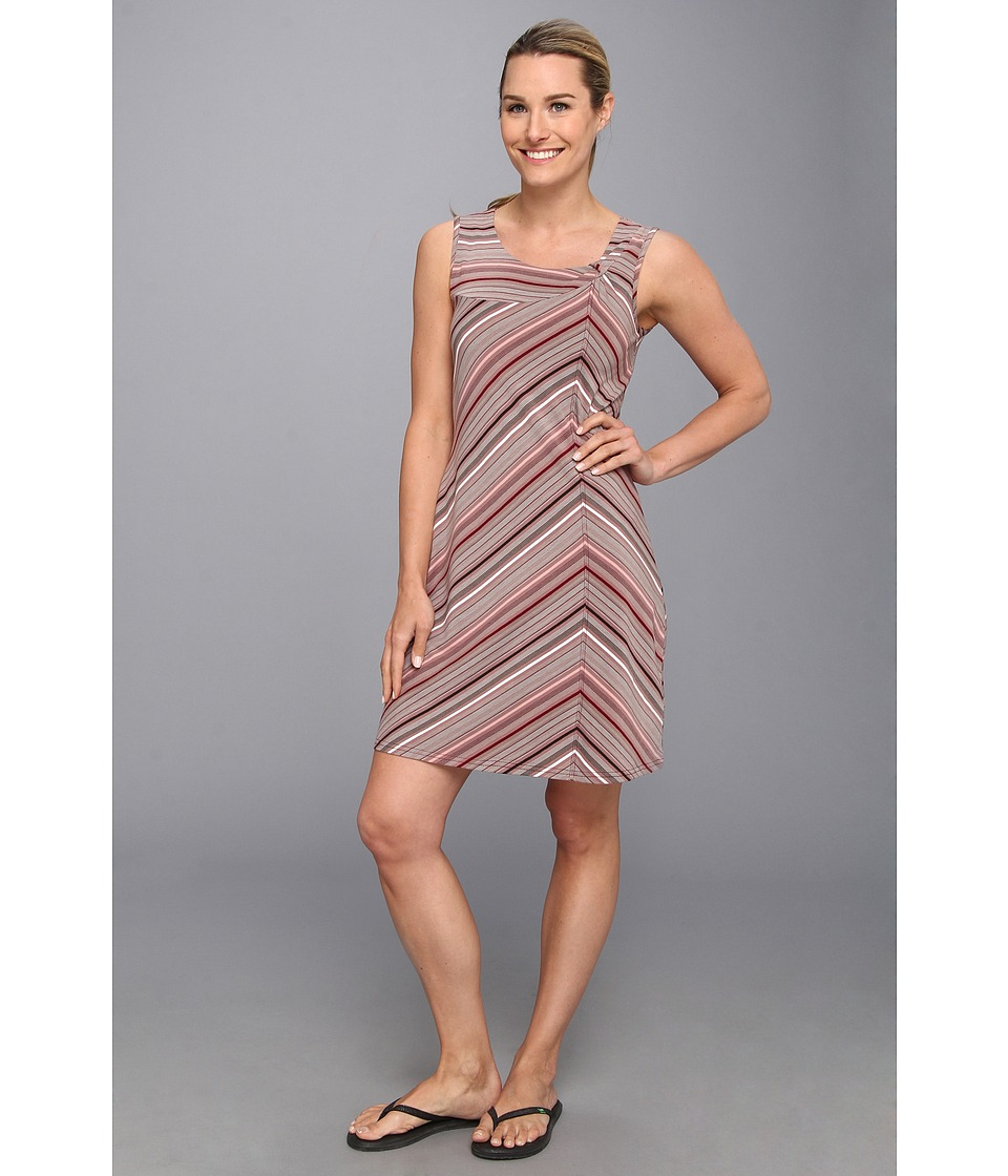 Royal Robbins - Essential Tencel Stripe Dress (Wild Rose) Women
