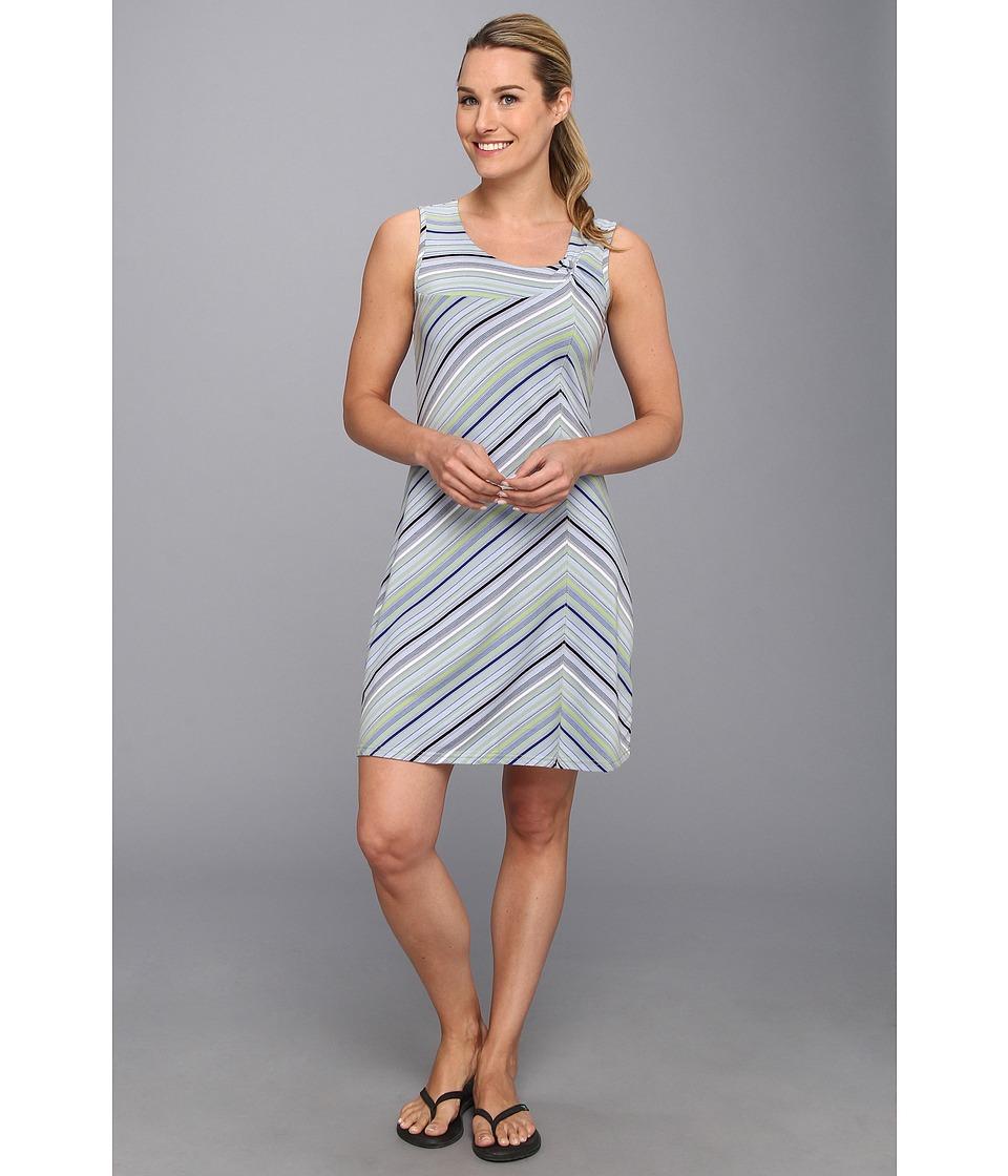 Royal Robbins - Essential Tencel Stripe Dress (Pool) Women's Dress