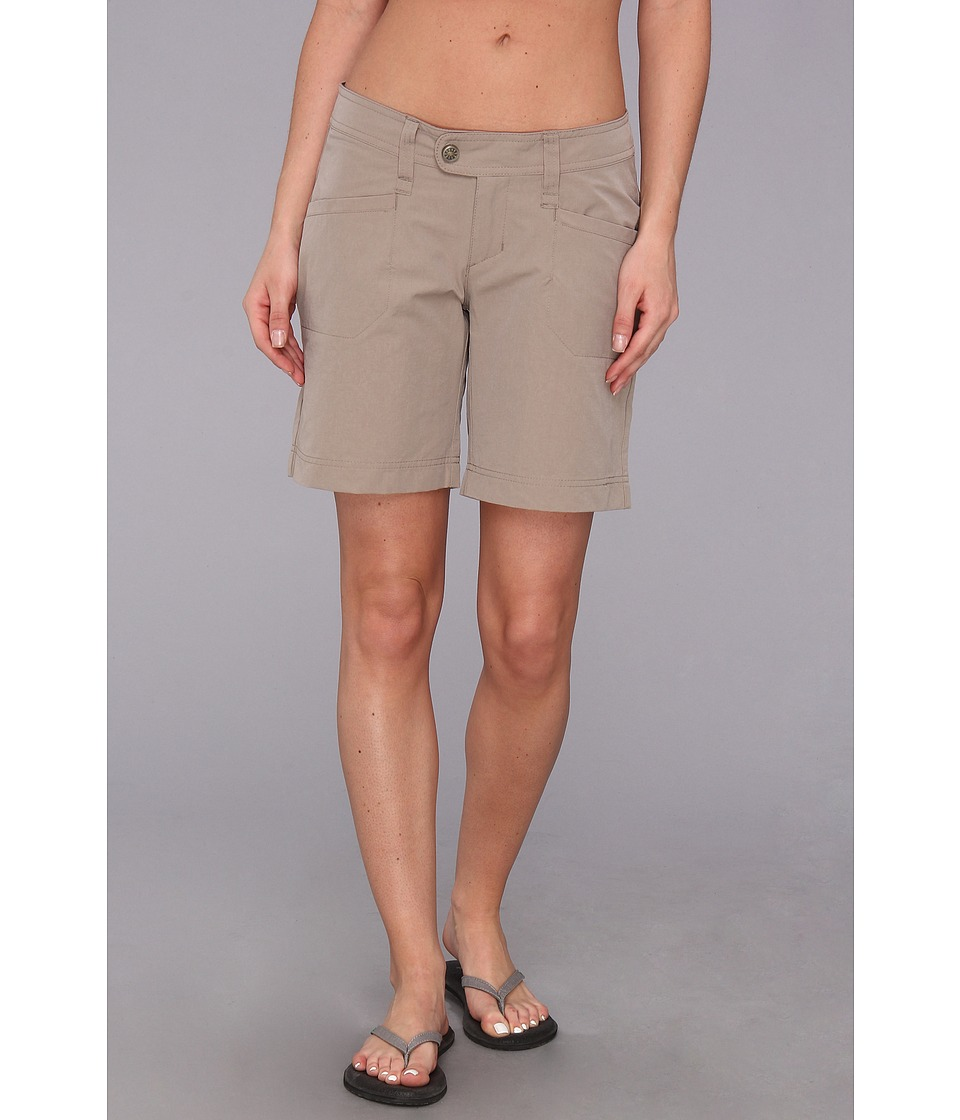 Royal Robbins - Embossed Discovery Short (Light Taupe) Women's Shorts