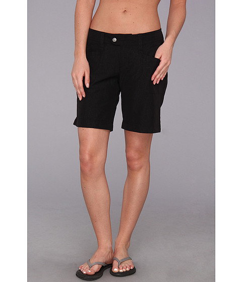 Royal Robbins - Embossed Discovery Short (Jet Black) Women's Shorts