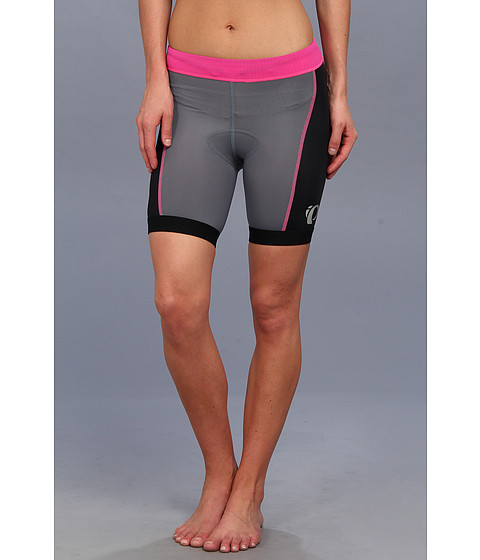Pearl Izumi - W SELECT Tri Short (Black/Hot Pink) Women's Shorts