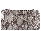 MICHAEL Michael Kors - Daria Pleated Clutch (Silver) - Bags and Luggage