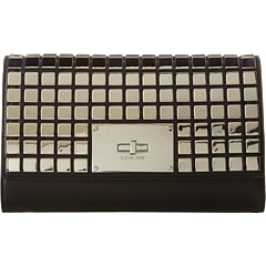 SALE! $246.99 - Save $131 on MICHAEL Michael Kors Natalia Tile Clutch (Black) Bags and Luggage - 34.66% OFF $378.00