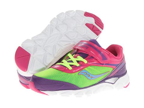 Saucony Kids - Varana A/C (Little Kid) (Pink/Purple/Citron) Girls Shoes