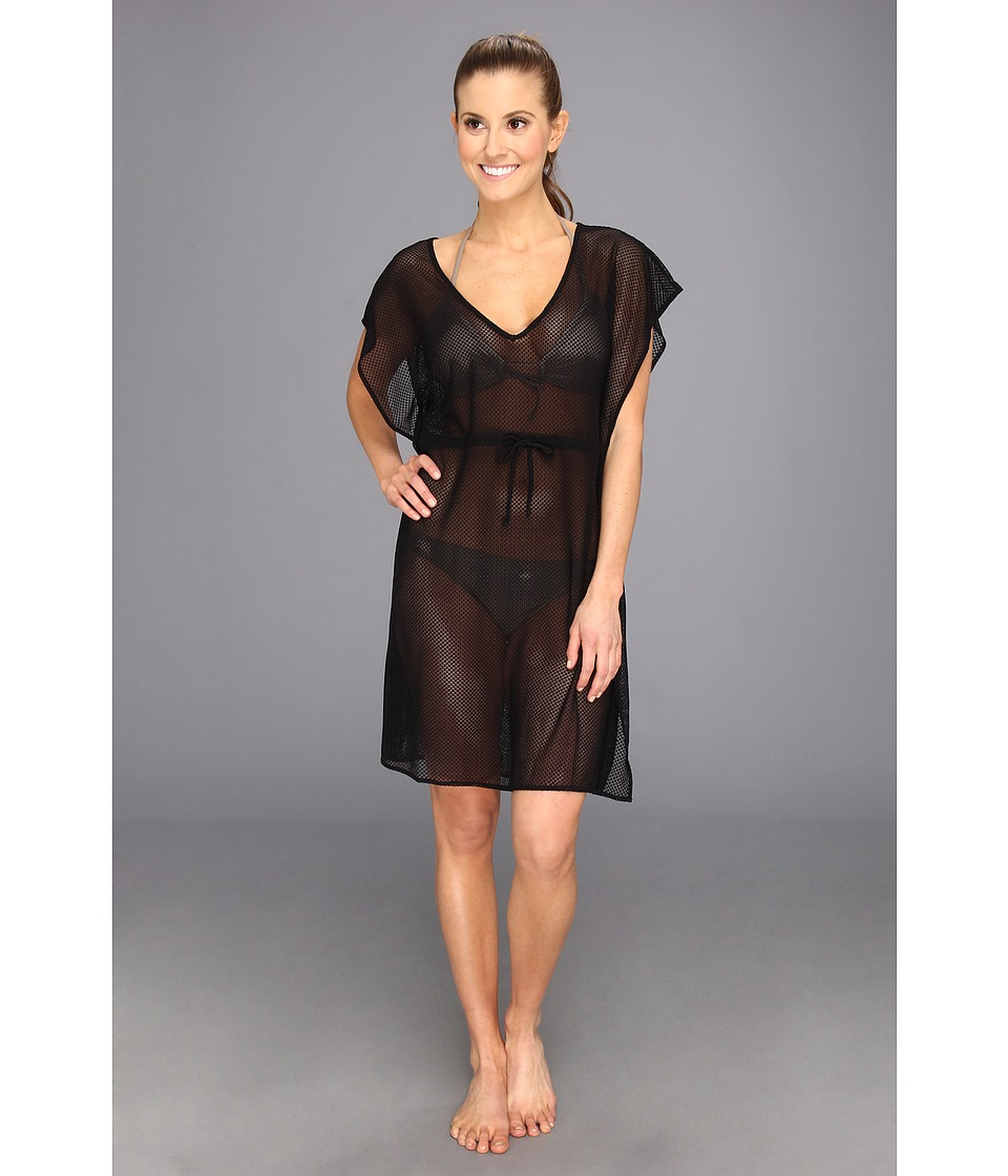 Tail Activewear - Vickie V-Neck Swim Tunic (Black) Women's Swimwear