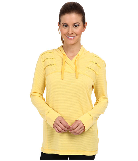 Royal Robbins - Briza Hoodie (Lemon) Women's Sweatshirt