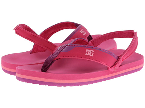 DC Kids - Grommet (Toddler) (Pink) Girls Shoes