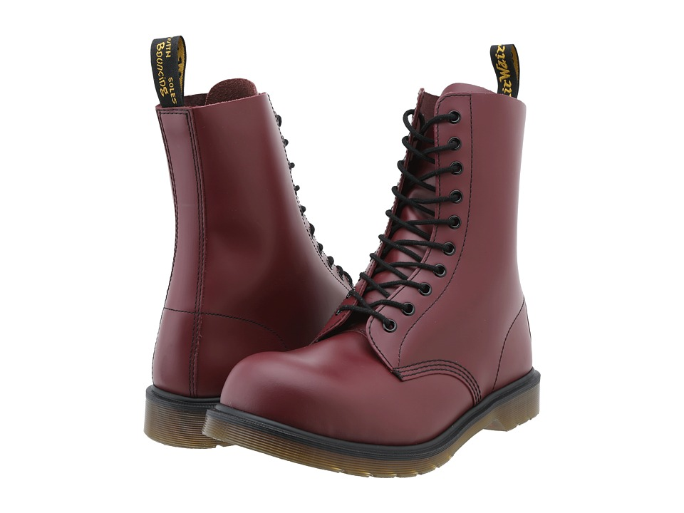 Dr. Martens - 1919 (Cherry Red Smooth) Boots