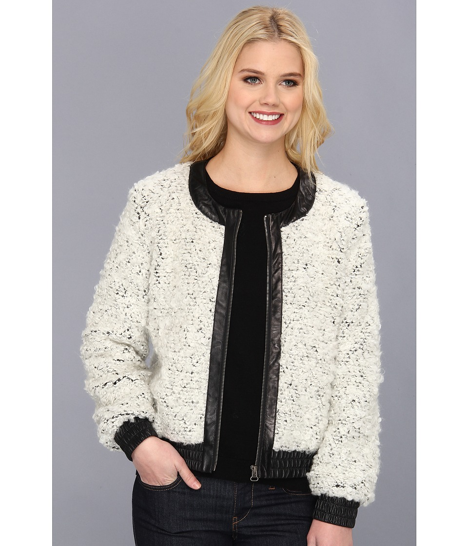 Townsen - Pom Pom Jacket (Cream) Women's Jacket