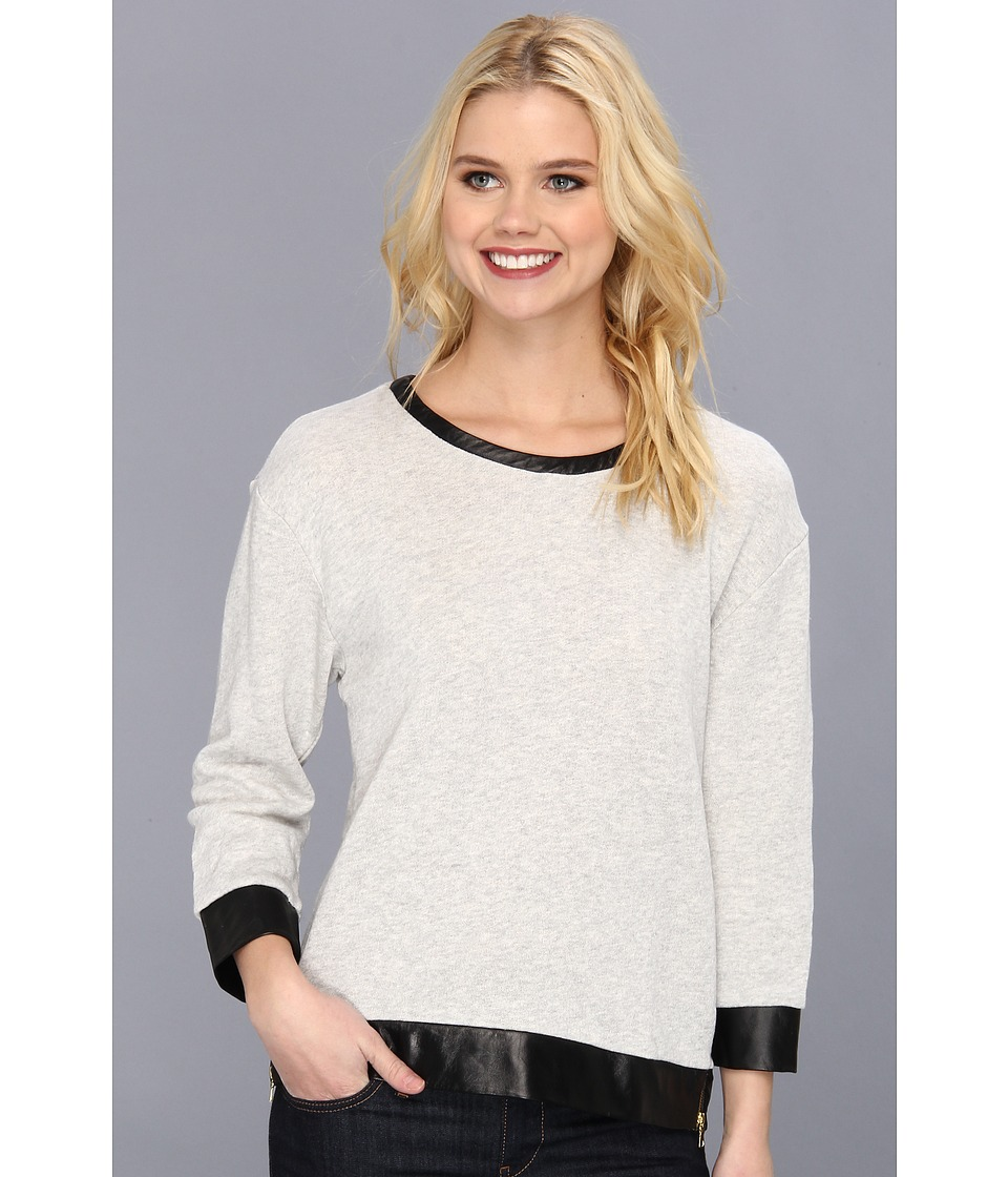 Townsen - Bow Pullover (Heather Grey) Women's Long Sleeve Pullover