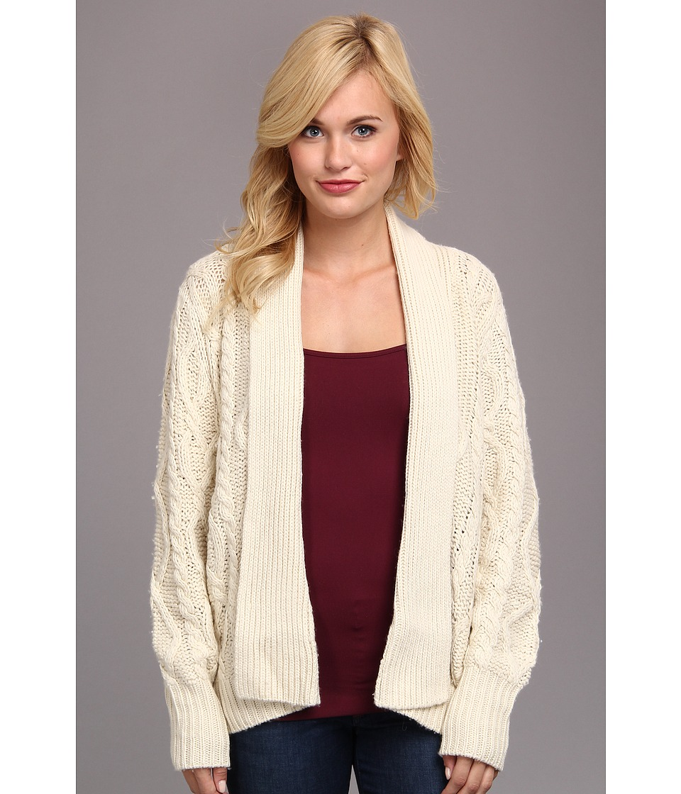 Townsen - Fleetwood Cardigan (Cream) Women's Sweater