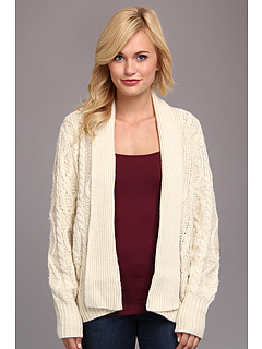 SALE! $79.99 - Save $184 on Townsen Fleetwood Cardigan (Cream) Apparel - 69.70% OFF $264.00