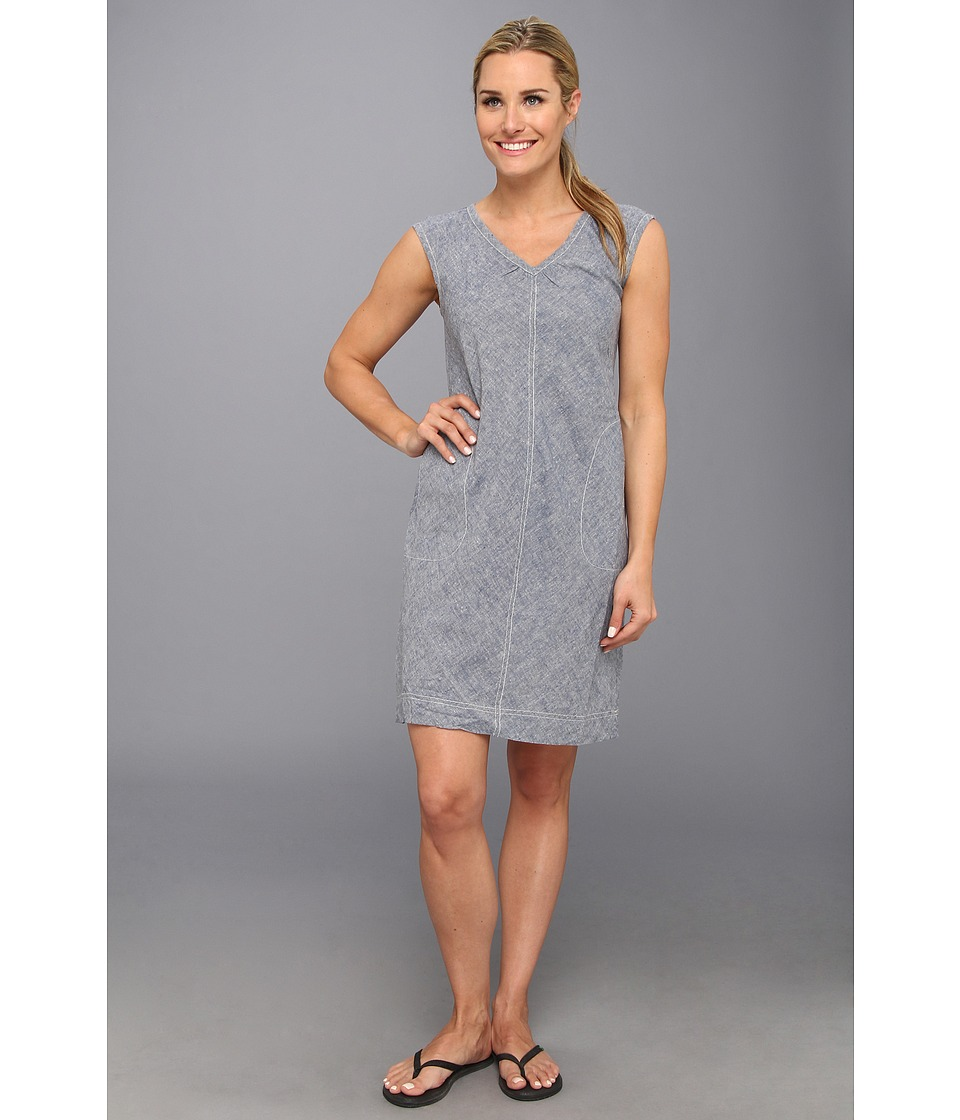 Royal Robbins - Chambray Summertime Dress (Night Sky) Women's Dress