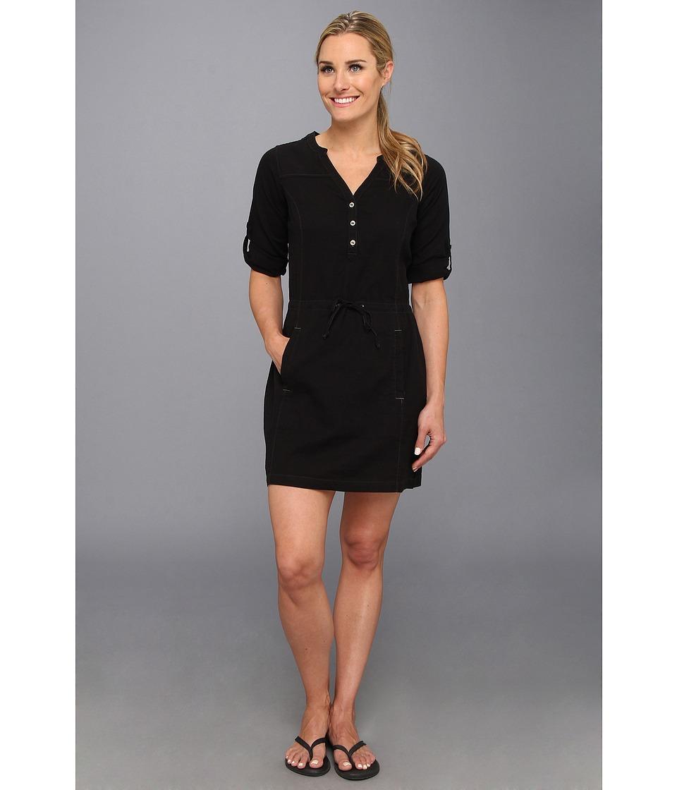 Royal Robbins Cool Mesh Shirt Dress Womens Dress (Black)