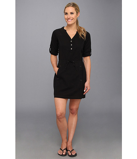Royal Robbins - Cool Mesh Shirt Dress (Jet Black) Women
