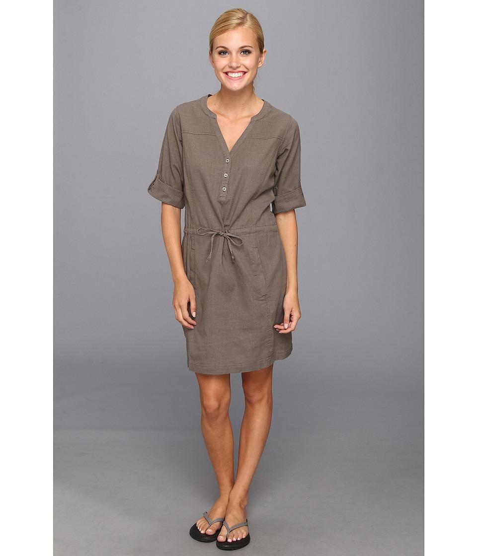 Royal Robbins Cool Mesh Shirt Dress Womens Dress (Taupe)