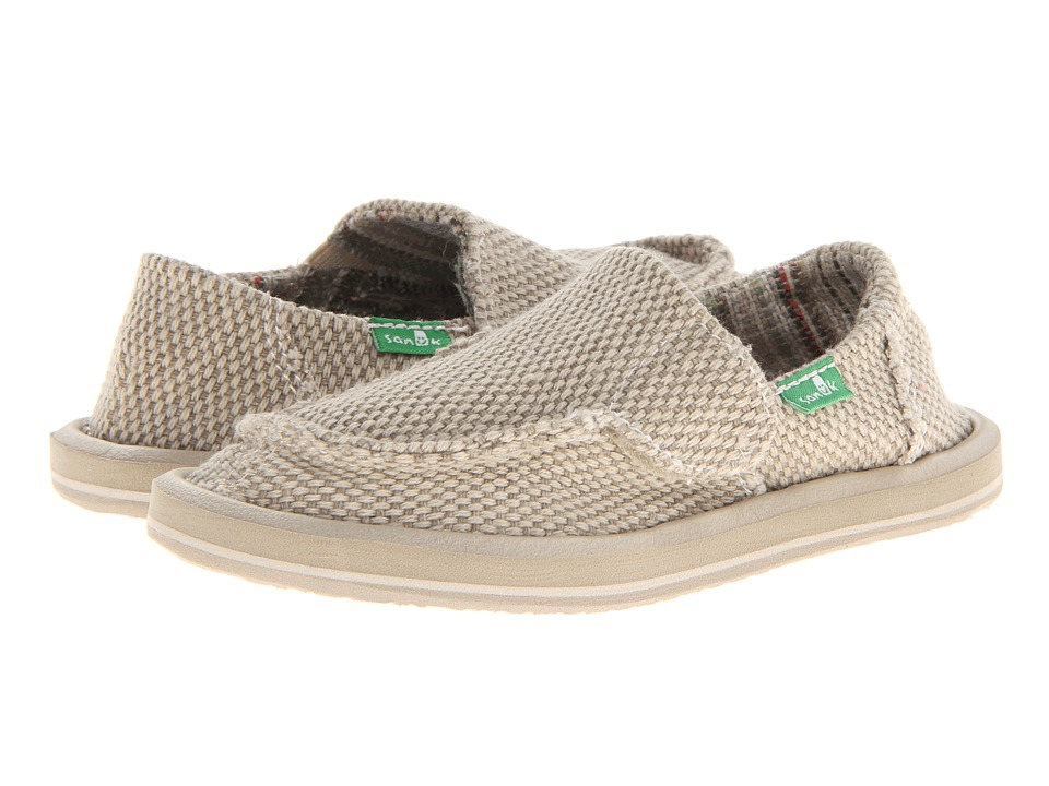 Sanuk Kids - Vagabond (Toddler/Little Kid) (Khaki) Boys Shoes