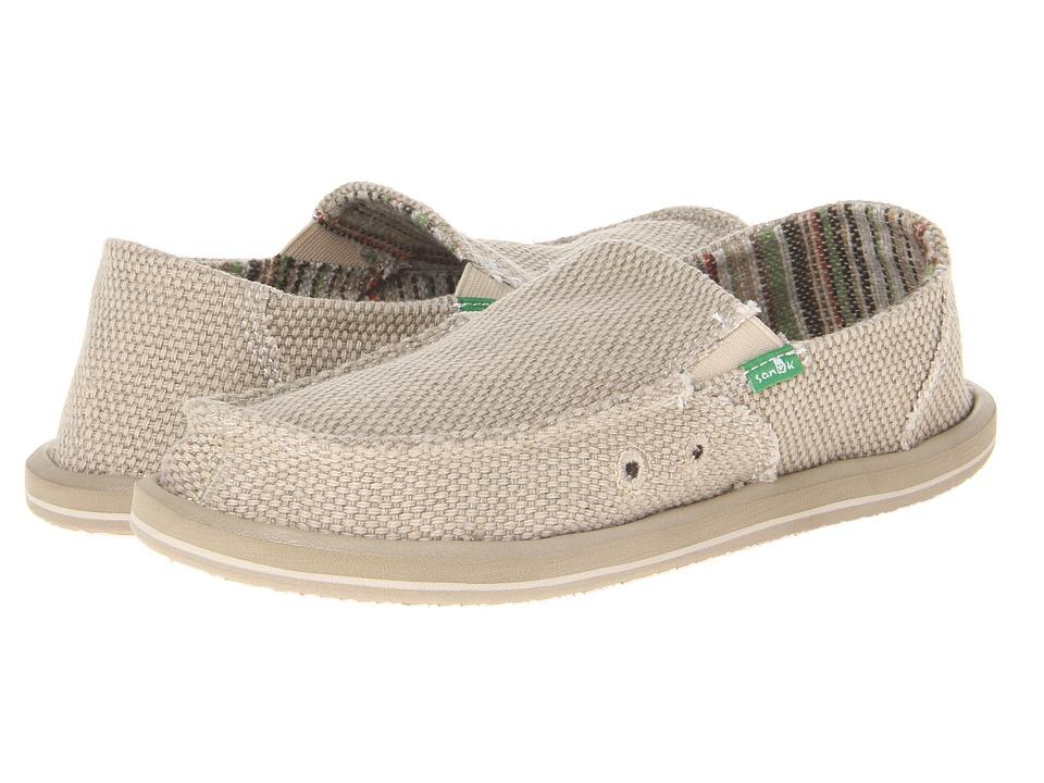 Sanuk Kids - Vagabond (Little Kid/Big Kid) (Khaki) Boys Shoes