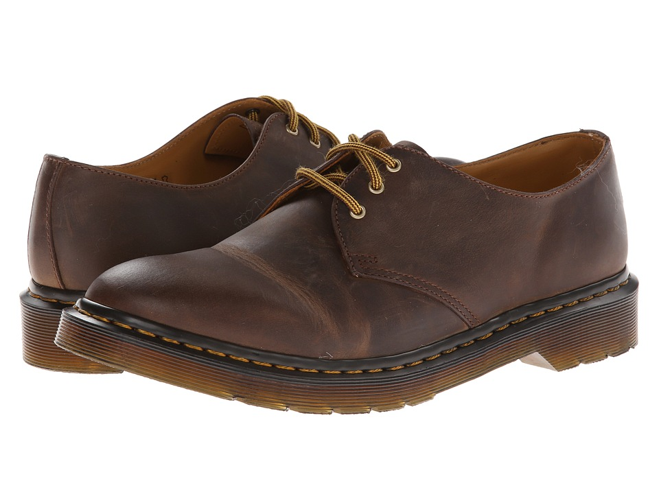 Dr. Martens - Dorian 3-Eye Shoe (Aztec Rugged Crazy Horse) Lace up casual Shoes