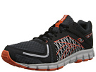 Reebok Smoothflex Flyer (Black/Gravel/Steel/Swag Orange/Pure Silver/White) Men's Shoes
