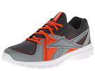 Reebok Speedfusion RS L (Graphite/Gravel/Flat Grey/Swag Orange/White) Men's Running Shoes