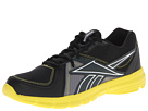 Reebok Speedfusion RS L (Black/Ultimate Yellow/Gravel/Foggy Grey/White) Men's Running Shoes