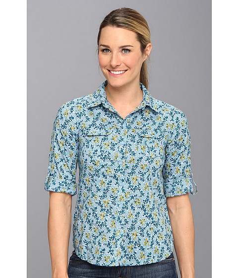 Royal Robbins - Daisy Chain L/S Top (Pool) Women