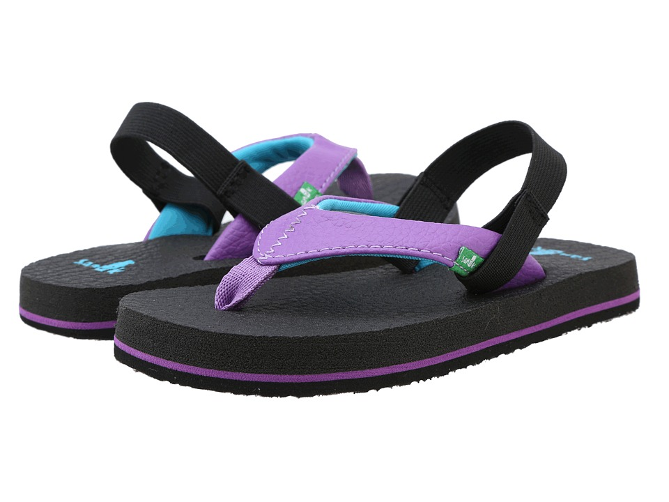 Sanuk Kids - Yoga Mat (Toddler/Little Kid) (Purple) Girls Shoes