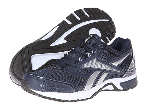 Reebok - Southrange Run L (Reebok Navy/Noble Grey Metallic/Pure Silver/White/Black) Men's Running Shoes