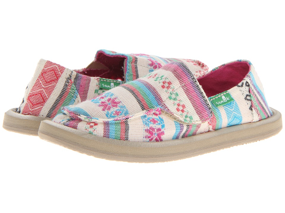 Sanuk Kids - Donna (Toddler/Little Kid) (Natural Poncho) Girls Shoes