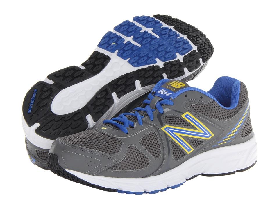 New Balance - M480v4 (Grey/Blue) Men's Running Shoes