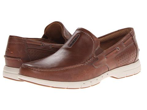 Clarks - Unnautical Bay (Tan) Men's Shoes
