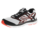 Reebok Reebok Dual Turbo Flier (White/Black/China Red) Men's Running Shoes
