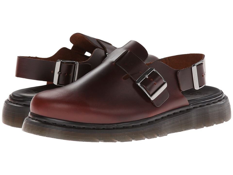 Dr. Martens - Jorge Closed Toe Sandal (Brown Shorthorn) Shoes