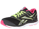 Reebok - Reebok Dual Turbo Flier (Black/Gravel/Pink Fusion/Neon Yellow/White)