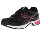Reebok Southrange Run L (Black/White/Dark Silver/Pink Fusion) Women's Running Shoes