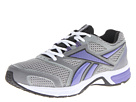 Reebok - Southrange Run L (Flat Grey/White/Foggy Grey/Black/Purple Vibe)