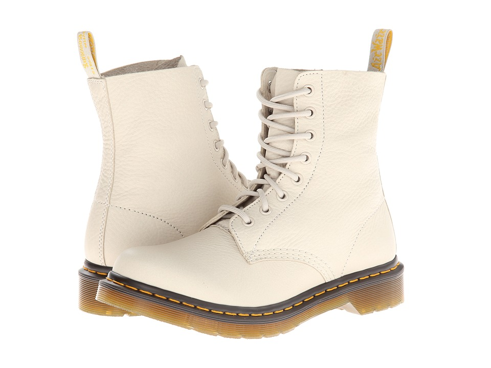 Dr. Martens - Pascal 8-Eye Boot W (Ivory Elk) Women's Lace-up Boots