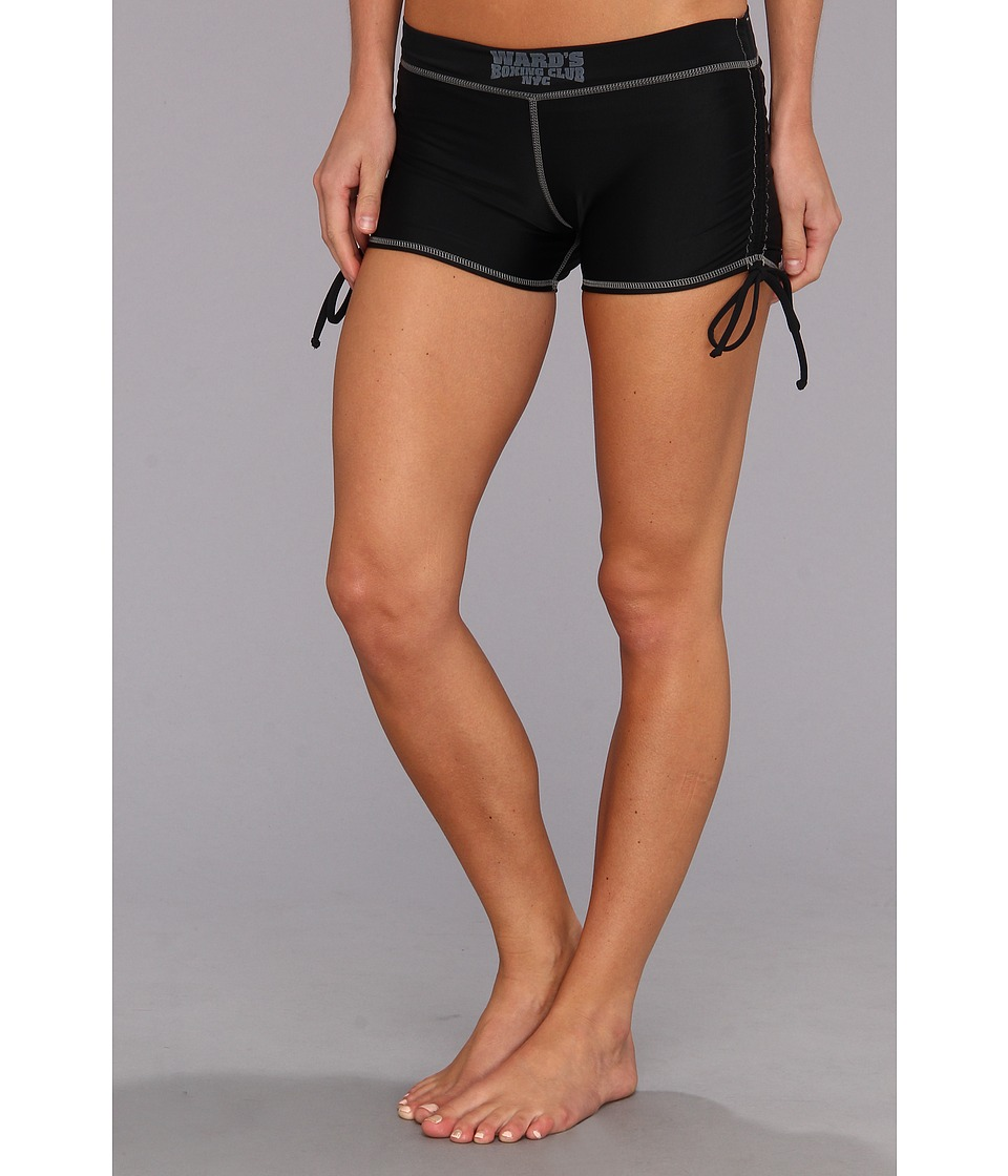 Ward's Boxing Club NYC - It's a Draw Short (Barn Burner Black/South Paw Slate) Women's Shorts