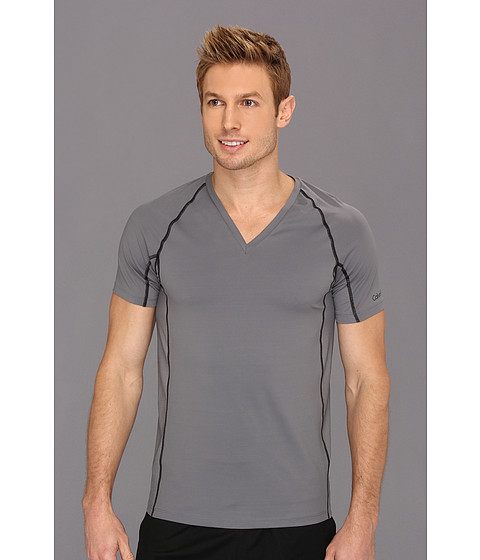 Calvin Klein Underwear - Athletic S/S V-Neck U1738 (Spear) Men's Underwear