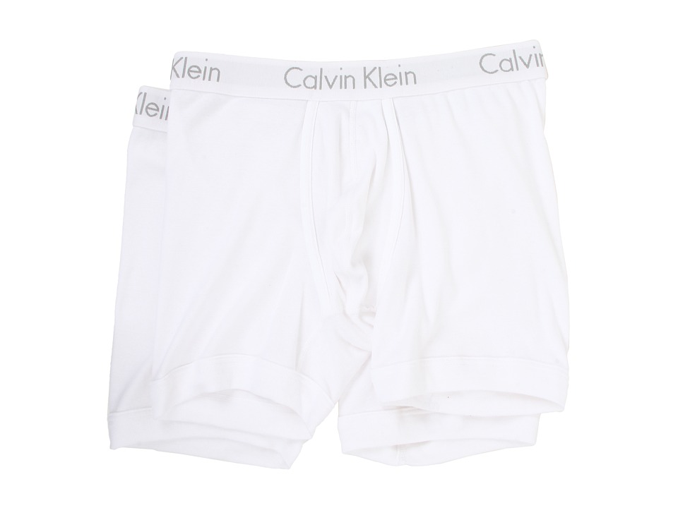 Calvin Klein Underwear - Body Boxer Brief 2-Pack U1805 (White) Men's Underwear