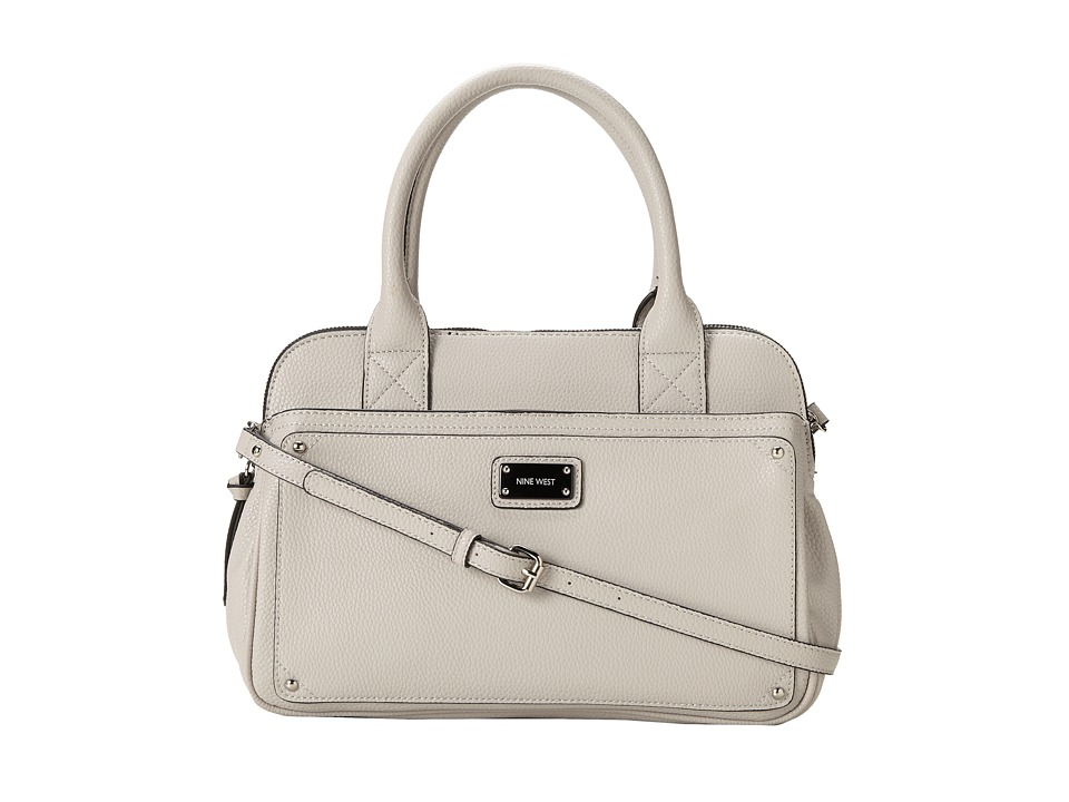 Nine West - Double Vision Satchel (Light Paris Mushroom) Satchel Handbags