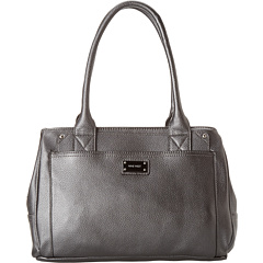 SALE! $59.99 - Save $29 on Nine West Double Vision Satchel (Hematite) Bags and Luggage - 32.60% OFF $89.00