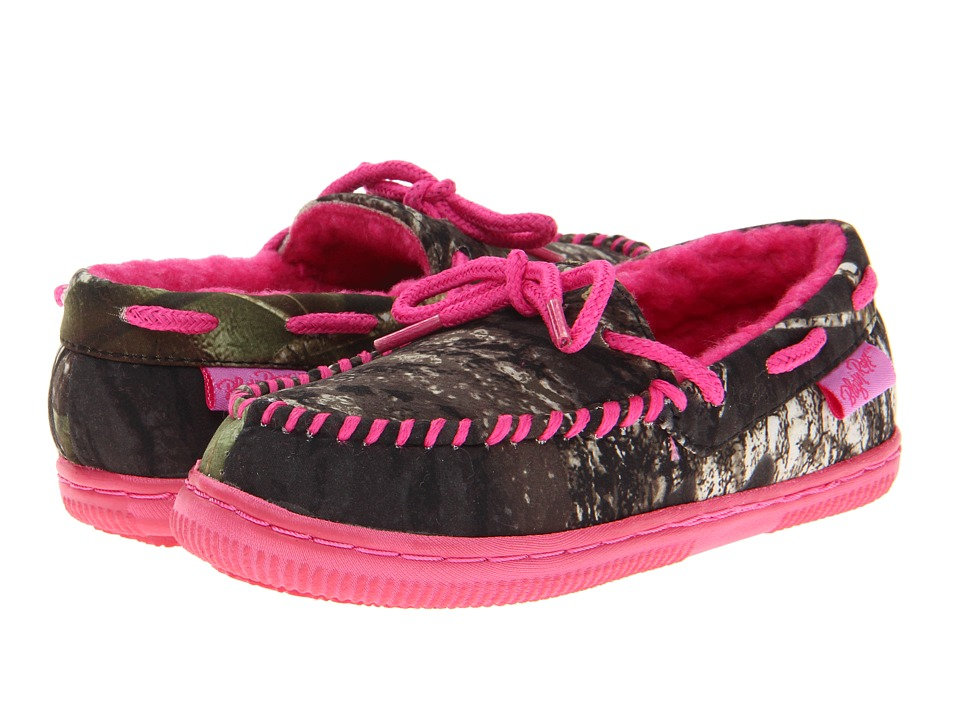 M&F Western - Mossy Oak Moccasin Slippers (Toddler/Little Kid/Big Kid) (Mossy Oak/Hot Pink) Women's Slippers