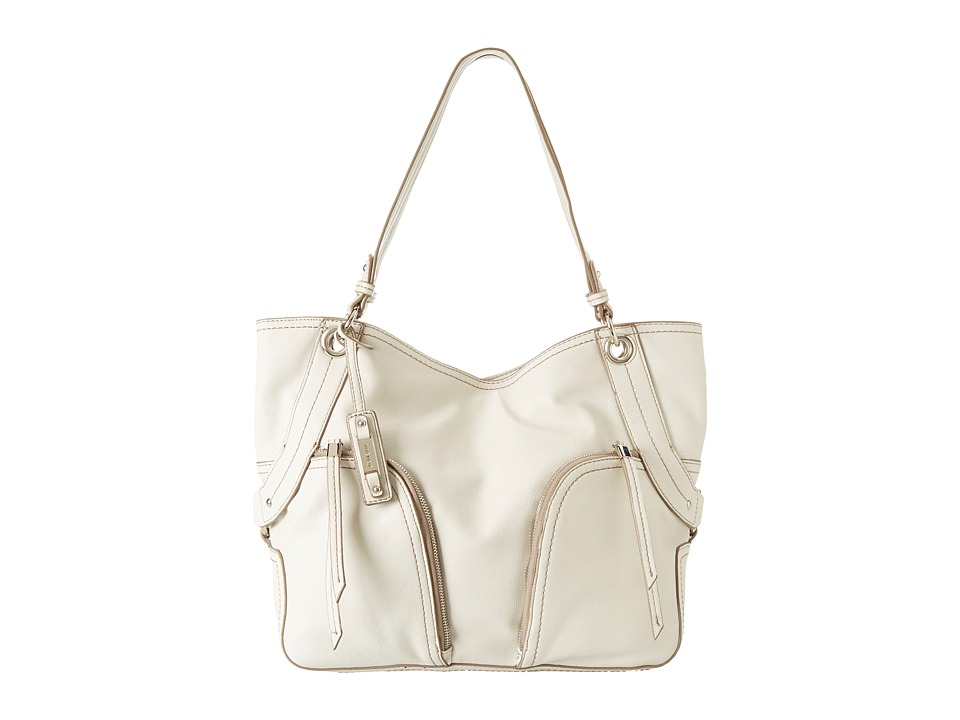 Nine West - Heavy Hitter Large Shopper (Chalk) Handbags