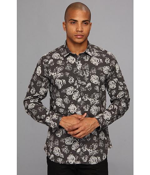 Diesel - Sausanna Shirt (Grey) Men's Long Sleeve Button Up