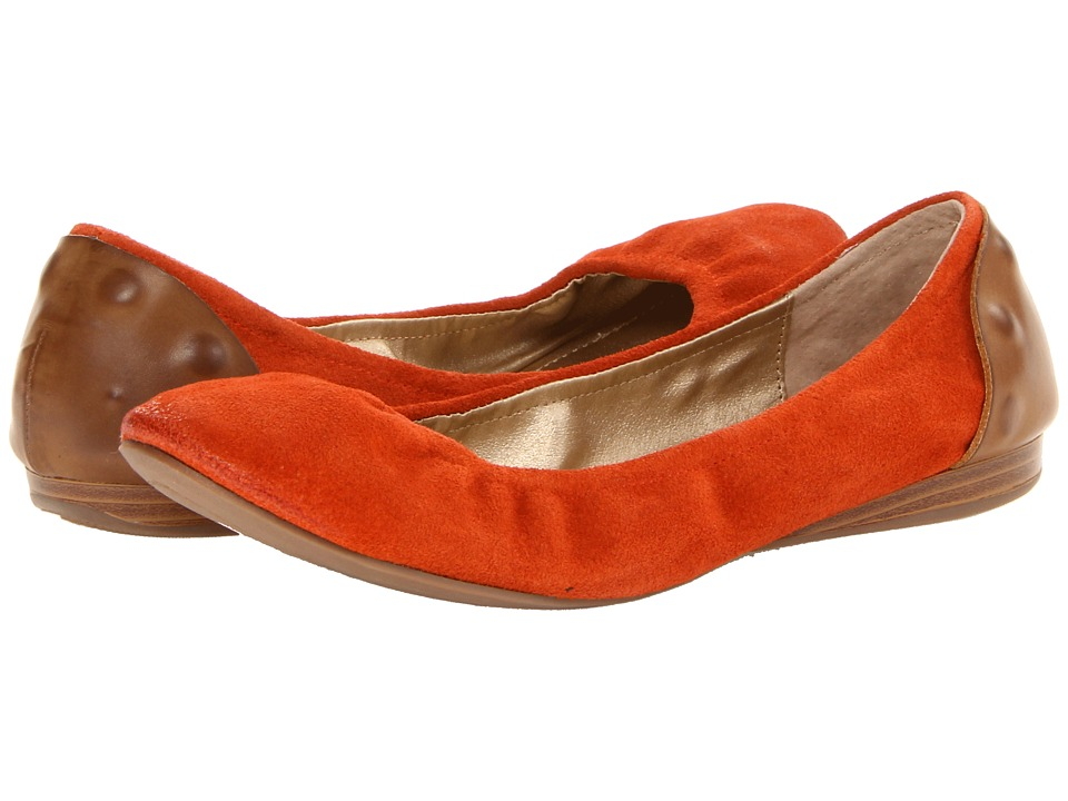 Kenneth Cole Reaction Ball A Womens Flat Shoes (Orange)