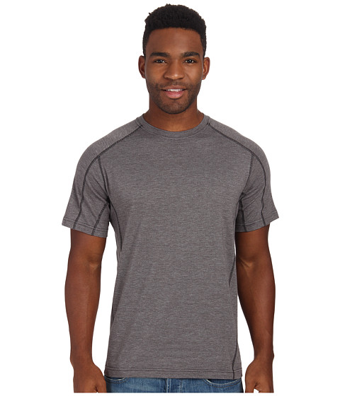 Royal Robbins - Dri-Release Crew (Obsidian) Men's Short Sleeve Pullover
