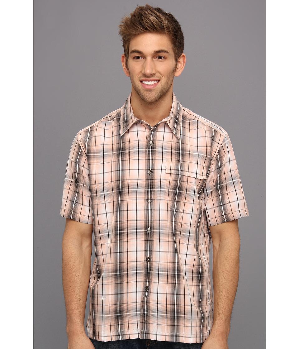 Royal Robbins - Plateau Plaid S/S (Dawn) Men's Short Sleeve Button Up