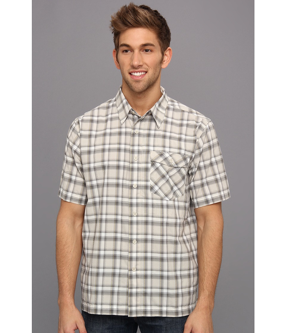 Royal Robbins - Slickrock Plaid S/S (Sandstone) Men